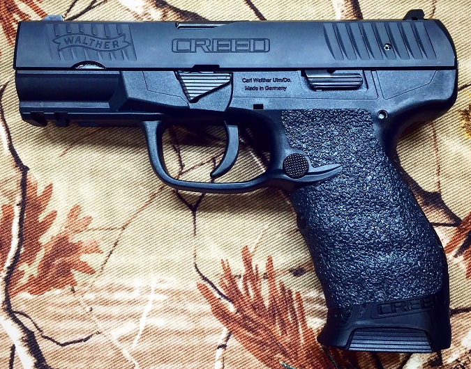 Tractiongrips: fit Walther CREED pistols