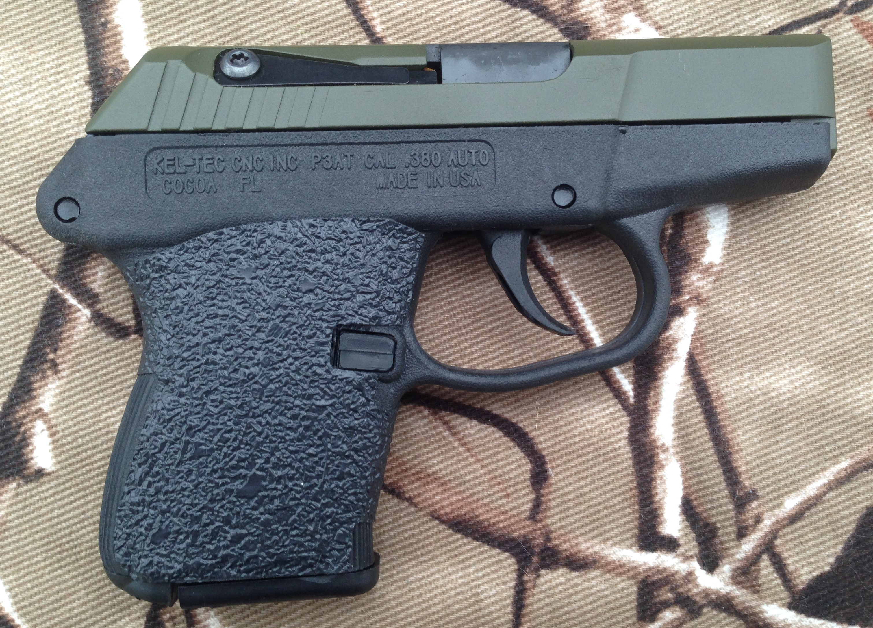 Tractiongrips: fit Kel-tec P3AT and P-32