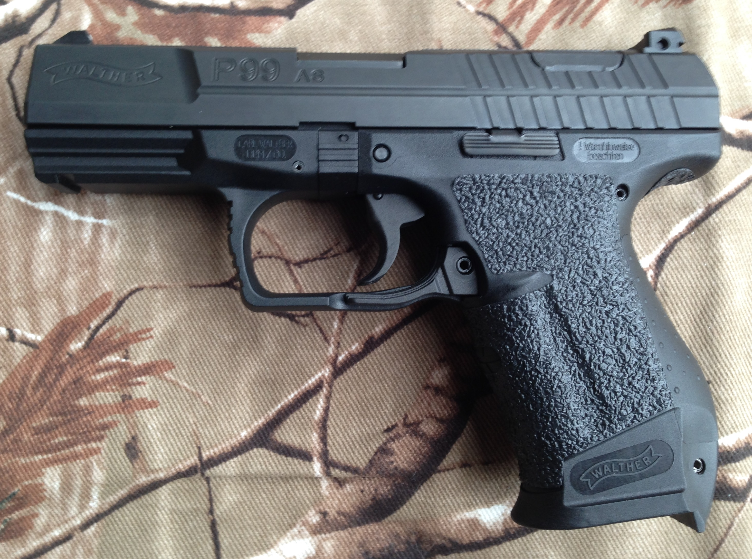 tractiongrips fit walther p99